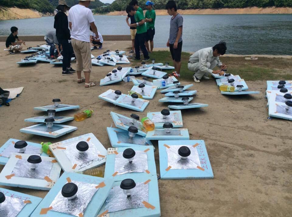 天若湖アートプロジェクトの活動の様子