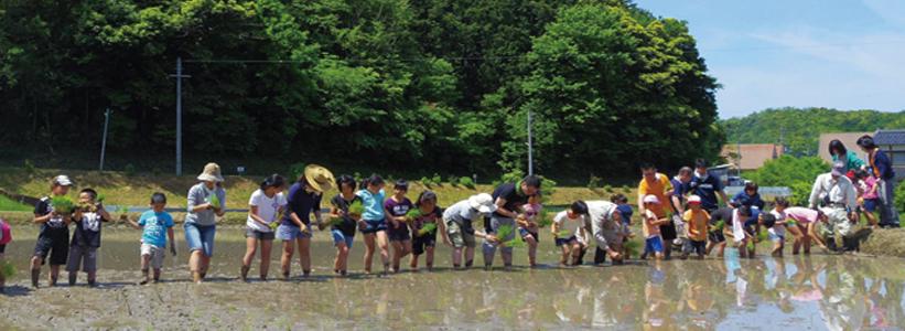 いのちの里京都村の活動の様子
